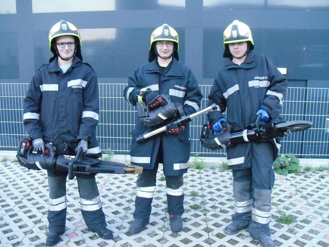 Neue Rettungsgeräte