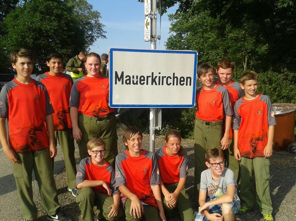 Unsere Jugendgruppe beim Landesfeuerwehrleistungsbewerb in Mauerkirchen
