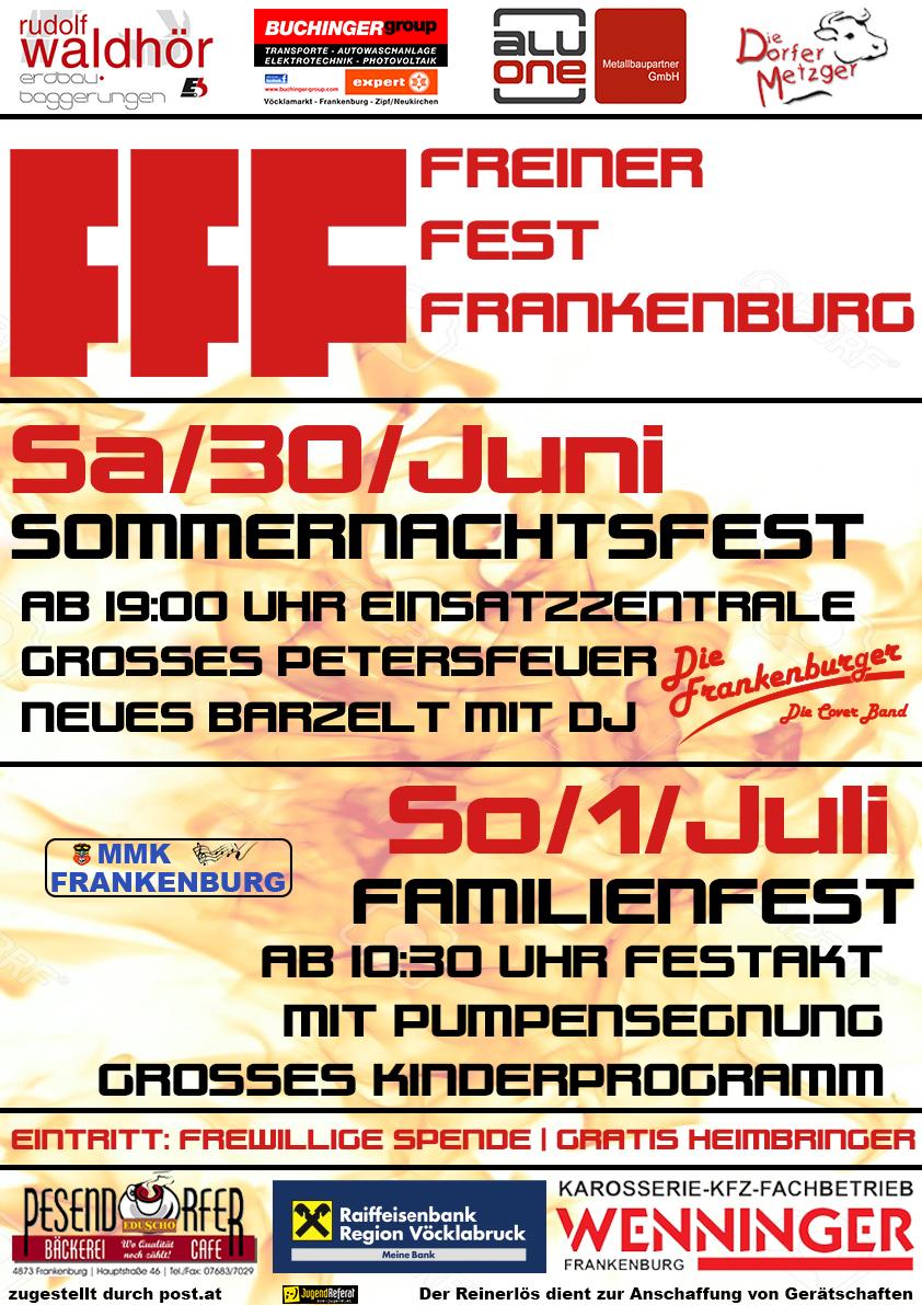 Freiner Fest Frankenburg