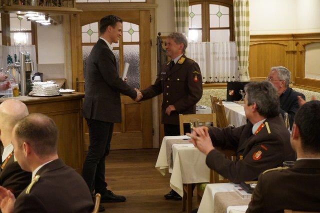 Wahl des Abschnittsfeuerwehrkommandanten