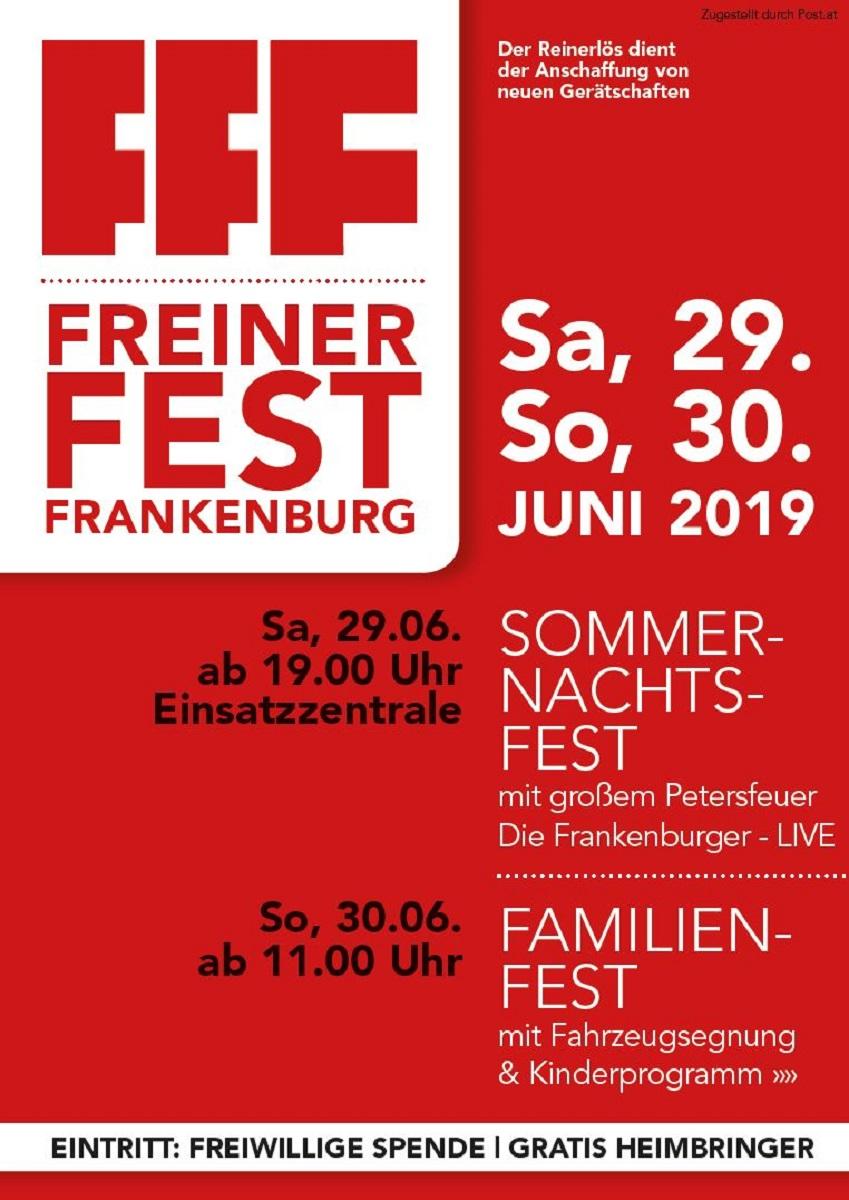 Großes Fest der FFF