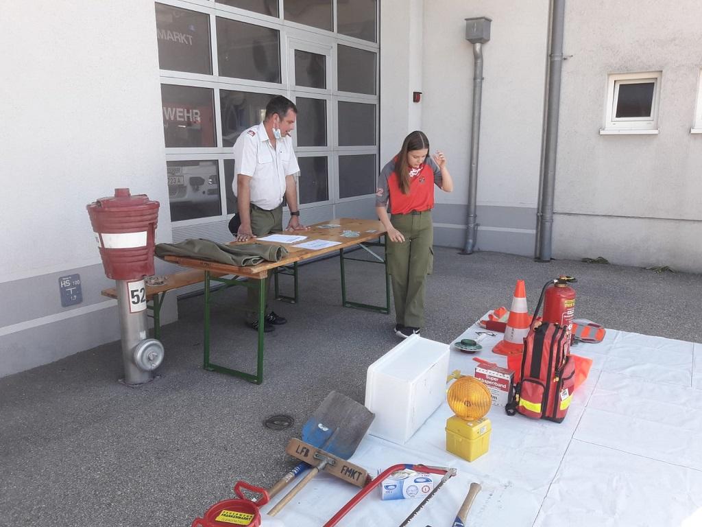 Feuerwehrjugend Leistungsabzeichen in Gold
